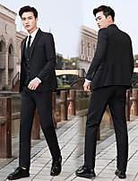 cheap -men's spring and autumn men's suits men's korean slim professional suits men's three-piece wedding groomsmen dresses