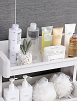 cheap -Mobile Bathroom Storage Rack Multi-layer Plastic Household Products