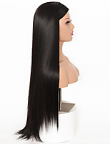 cheap -2020 new wig wig foreign trade amazon ice silk hair band long straight hair flannel hair band long straight hair hood