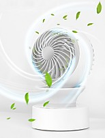 cheap -X8 Portable Rechargeable 3 Gears Rotatable Mini Fog Spray Fan with LED Night Light Summer Personal Desktop Table Fan