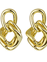 cheap -geometric earrings style chain thick chain earrings hip-hop earrings