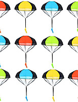 cheap -12 Pack Parachute Toys Tangle Free Throwing Parachute Toy Parachute Figures Plastic Warrior Figures for Kids Party Favors Outdoor