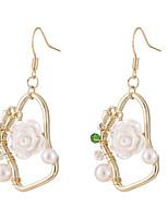 cheap -Women's Drop Earrings Earrings Jewelry Gold For Date Festival 1 Pair