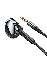 cheap -Lenovo XF06 3.5mm Audio Jack In-Ear Earphones Wired Earpiece In-Line Control with Microphone