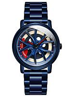 cheap -SANDA men's quartz watch student trend steel band waterproof watch