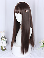 cheap -Brown Lolita Lolita Wig 65 inch Cosplay Wigs Other Wig Halloween Wigs