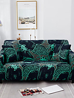 cheap -Abstract Art Green Print Dustproof All-powerful  Stretch Sofa Cover Super Soft Fabric with One Free Boster Case