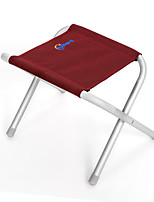 cheap -Camping Stool Portable Ultra Light (UL) Multifunctional Foldable Aluminum Alloy for 1 person Fishing Beach Camping Traveling Autumn / Fall Winter Burgundy Green / Breathable / Comfortable