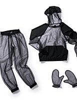 cheap -Outdoor Insect Repelling Net Lightweight Anti-Mosquito Jacket Fashion Ultralight Cool Breathable Soft Mesh Mosquito Repellent Hoodie Jacket  Fishing Suit