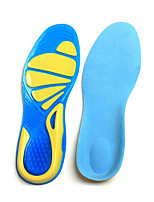 cheap -Shoe Inserts Running Insoles Women's Men's Sports Insoles Foot Supports Shock Absorption Arch Support Breathable for Fitness Gym Workout Running Fall Winter Spring Sky Blue