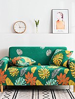 cheap -2021 New Stylish Simplicity Print Sofa Cover Stretch Couch  Super Soft Fabric Retro Hot Sale Green Leaf Couch Cover