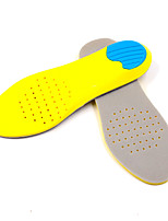 cheap -Memory Foam Shoe Inserts Running Insoles Women's Men's Sports Insoles Foot Supports Shock Absorption Arch Support Breathable for Fitness Gym Workout Running Fall Winter Spring 0ZL Yellow / Cotton