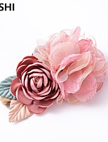 cheap -amazon creative new artificial mesh yarn stitching flower children's hair band fashion elastic nylon baby hair accessories