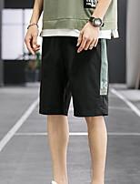 "cheap -Men's Hiking Shorts Hiking Cargo Shorts Camo Summer Outdoor 12"" Ripstop Quick Dry Multi Pockets Breathable Knee Length Shorts Bottoms Red Black Light Grey Work Hunting Fishing M L XL XXL XXXL"