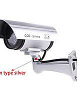 cheap -simulation fake dummy camera outdoor indoor waterproof security cctv  solar energy simulate cameras with led light