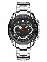 cheap -6-pin three-eye watch men's sports watch multifunctional outdoor watch