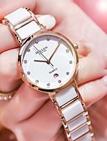cheap -DOM Women's Quartz Watches Analog Quartz Stylish Minimalist Water Resistant / Waterproof Calendar / date / day