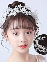 cheap -new children's headdress model catwalk ball hair accessories european and american wish girls pearl headband performance hairpin