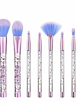 cheap -beauty unicorn fan makeup brush set for lip eye shadow eyebrow eye blender brush crystal sparkles blush powder fan yyfus (color : 01, size : free)