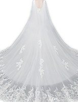 cheap -Sleeveless Elegant & Luxurious / Bridal Lace Wedding / Party / Evening Women's Wrap With Solid