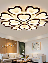 cheap -LED Ceiling Light Heart-shaped Bedroom Light APP Control with Stepless Dimming or OFF/ ON Control Three Color Acrylic Ceiling Panel Lamp Unique Minimalist Livingroom AC220V AC110V