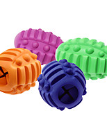 cheap -Teeth Cleaning Toy Dog Chew Toys Dog Toy Dog Ball Pet Exercise Teething Rope Toy Teething Toy Rubber Gift Pet Toy Pet Play