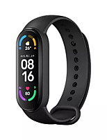 cheap -Xiaomi band 6 Smart Wristband for Android iOS Bluetooth 1.56 inch Screen Size Touch Screen Blood Pressure Measurement Sports Smart Blood Oxygen Measurement Pedometer Men Women