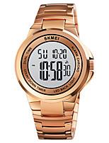 cheap -SKMEI Men's Steel Band Watches Digital Digital Sporty Stylish Calendar / date / day Chronograph Alarm Clock / One Year