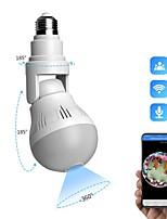 cheap -DIDSeth 360 Panoramic LED Light 1080P Wireless Panoramic Home Security WiFi CCTV Fisheye Bulb Lamp IP Camera Two Ways Audio Cam