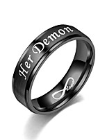 cheap -her demon his angel ring eternal love ring angel and devil couple ring