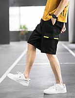 "cheap -Men's Hiking Shorts Hiking Cargo Shorts Stripes Summer Outdoor 12"" Ripstop Multi Pockets Breathable Sweat wicking Knee Length Bottoms Black Light Grey Khaki Green Work Hunting Fishing M L XL XXL XXXL"