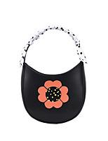 cheap -Women's Bags PU Leather Top Handle Bag Hobo Bag Date Office & Career 2021 Handbags White Black Yellow Green