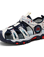cheap -Boys' Sandals Comfort PU Big Kids(7years +) Daily Water Shoes Upstream Shoes White Red Blue Summer
