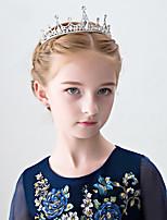 cheap -girls crown headdress super fairy princess children's birthday hair accessories diamond flower girl cute show hair band girl accessories