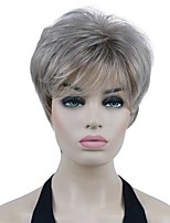 cheap -Short Layered Brown Blonde Wig Shag Classic Cap Women's Full Synthetic Wigs COLOUR CHOICES