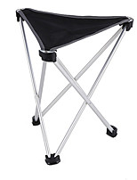cheap -Camping Stool Tri-Leg Stool Multifunctional Portable Breathable Ultra Light (UL) Aluminum Alloy for 1 person Fishing Beach Camping Traveling Autumn / Fall Winter Black Blue