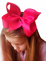 cheap -1pcs Toddler Girls' Active / Sweet Daily Wear White Solid Colored Bow Nylon Hair Accessories White / Black / Blue One-Size