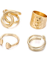 cheap -ring female fashion four-piece adjustable rings