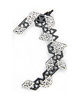 cheap -Women's Stud Earrings Geometrical Lucky Stylish Simple Earrings Jewelry Black For Party Wedding 1pc