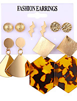 cheap -6 pieces set earrings