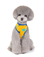 cheap -Dog Cat Vest Word / Phrase Stars Adorable Cute Dailywear Casual / Daily Dog Clothes Puppy Clothes Dog Outfits Breathable Yellow Red Gray Costume for Girl and Boy Dog Padded Fabric S M L XL XXL