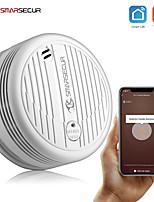 cheap -smarsecur wifi smoke detector smoke sensor highly sensitive for smart life app control power by tuya