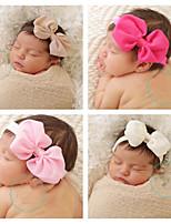 cheap -new children's hair accessories chiffon bow hairband headwear european and american baby newborn headband amazon ae