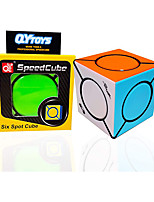 cheap -QiYi Magic CubeSpeed CubeMagic Star CubeExercise Hands-on Eye Combination and Improve Color Perception AbilityRelieve Anxiety of Children and Adults