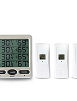 cheap -TS-WS-10 Mini / Portable Hygrometers Measuring temperature and humidity, LCD backlight display, High / low temperature alarm