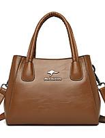cheap -Women's Bags Satchel Top Handle Bag Date Office & Career 2021 Handbags Wine Black Purple Yellow