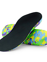 cheap -Memory Foam Shoe Inserts Running Insoles Women's Men's Sports Insoles Foot Supports Shock Absorption Arch Support Breathable for Fitness Running Active Training Fall Winter Spring Black Khaki