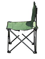 cheap -Camping Chair Portable Ultra Light (UL) Multifunctional Foldable Oxford for 1 person Fishing Beach Camping Traveling Autumn / Fall Winter Army Green / Breathable / Comfortable