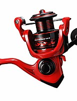 cheap -ultralight spinning reel size 500 suitable for ice fishing reel ultra smooth (red, 500)