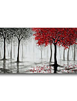 cheap -Oil Painting Handmade Hand Painted Wall Art Landscape Abstract Forest Home Decoration Dcor Stretched Frame Ready to Hang